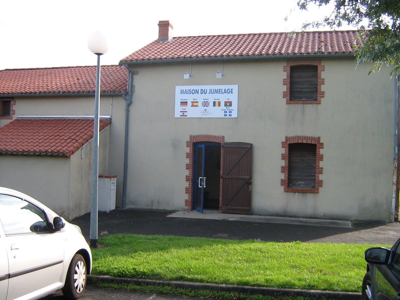 Choletdeniaespagne la maison du jumelage si ge de l for Association maison