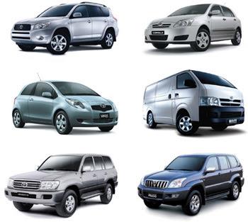 toytia cars 2009