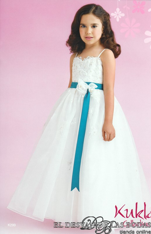Boda Bonita: Vestidos de niñas para boda