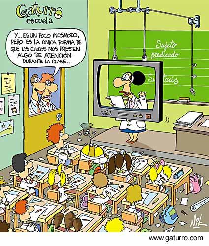 chiste aula virtual ¿Cómo motivar a los alumnos para aprender ciencia?