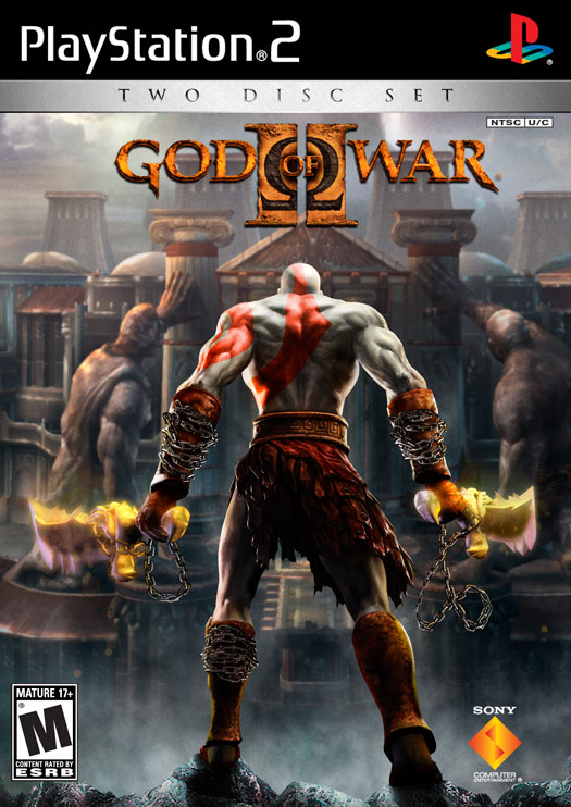 "God of War II"" free PS2 Game"
