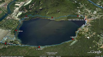Correndo col pimpe giro del lago di mergozzo for Lago di mergozzo
