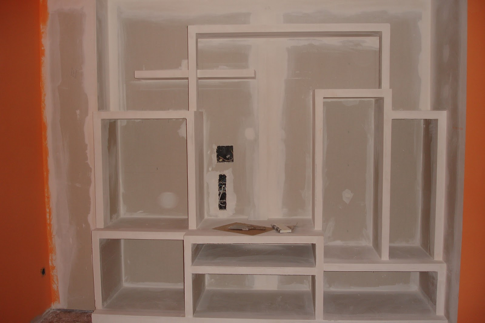 Reformas canosa pladur techos tabiques muebles - Muebles en pladur ...