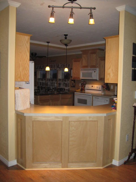 Pass Through View of Kitchen