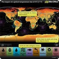 Mapa de Impacto Climático