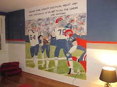 New England Patriots Mural