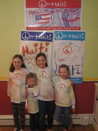 Peace 4 Haiti t-shirt
