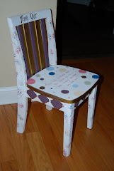Time Out Chair for a girl