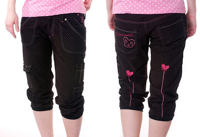 punk cargo shorts
