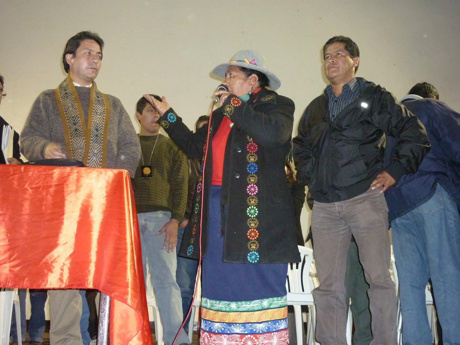 Congresista Sumire participa en la Instalacion de mesa de dialogo en Espinar
