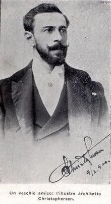 Alejandro Christophersen en 1900