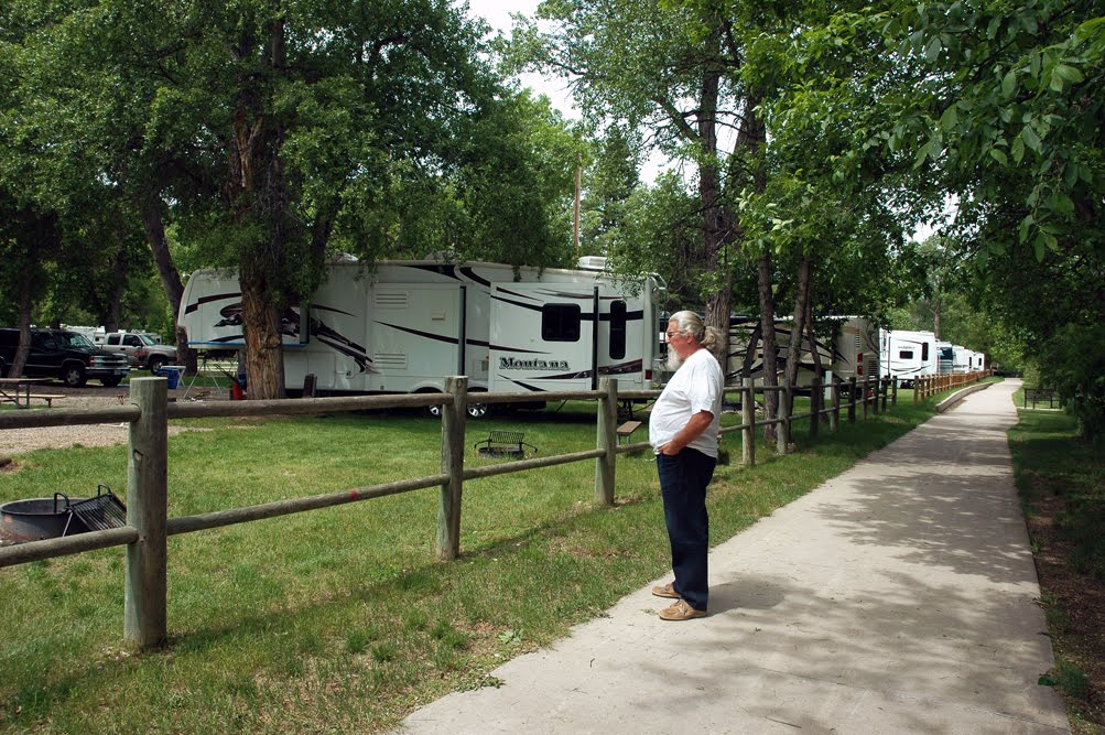 Happy Trails Spearfish South Dakota City Campground