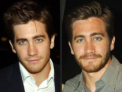 Jake Gyllenhaal with Men Medium Hairstyles, he look so sexy.