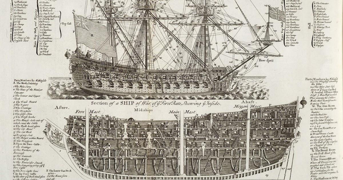 Warship  Hms Trincomalee Sailing Frigate Cutaway Diagram