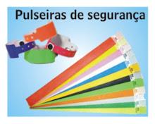 Pulseiras Identificação VIP -  DF  Fone:(61)3358-2226