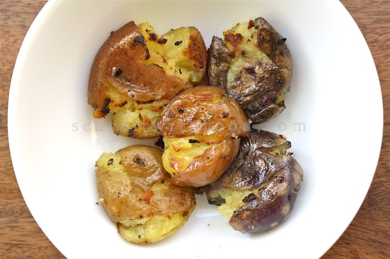 Seasaltwithfood: Crash Hot Potatoes