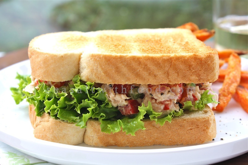 Seasaltwithfood: Tuna Salad Sandwiches