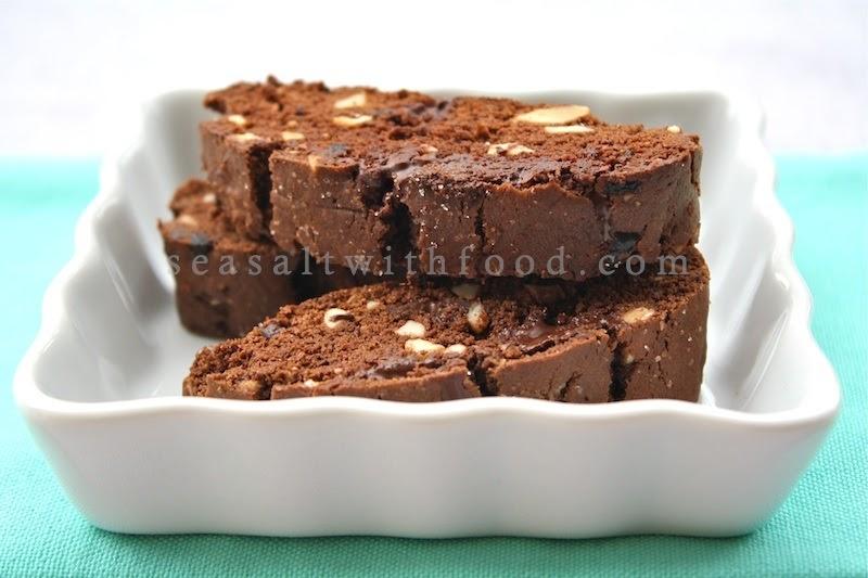 Seasaltwithfood: Chocolate-Cherry Biscotti