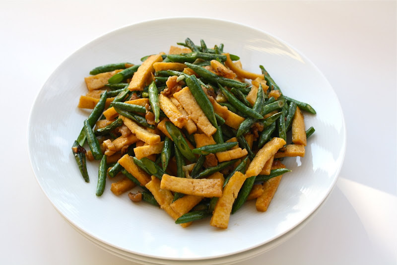 Seasaltwithfood Stir Fry Long Bean With Preserved Radish