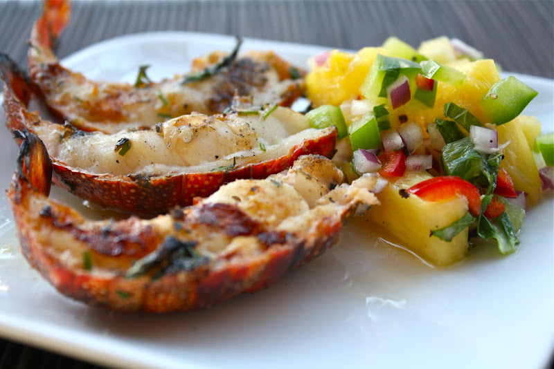 Seasaltwithfood: Grilled Lobster Tails