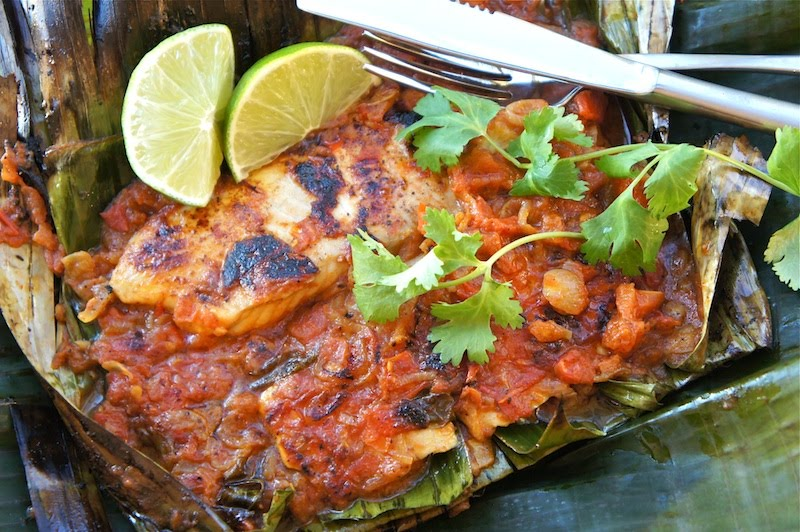 Seasaltwithfood: Grilled Fish In Banana Leaves