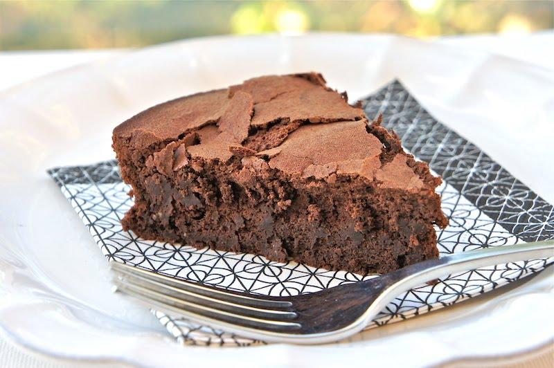Seasaltwithfood: Fallen Chocolate Soufflé Cake