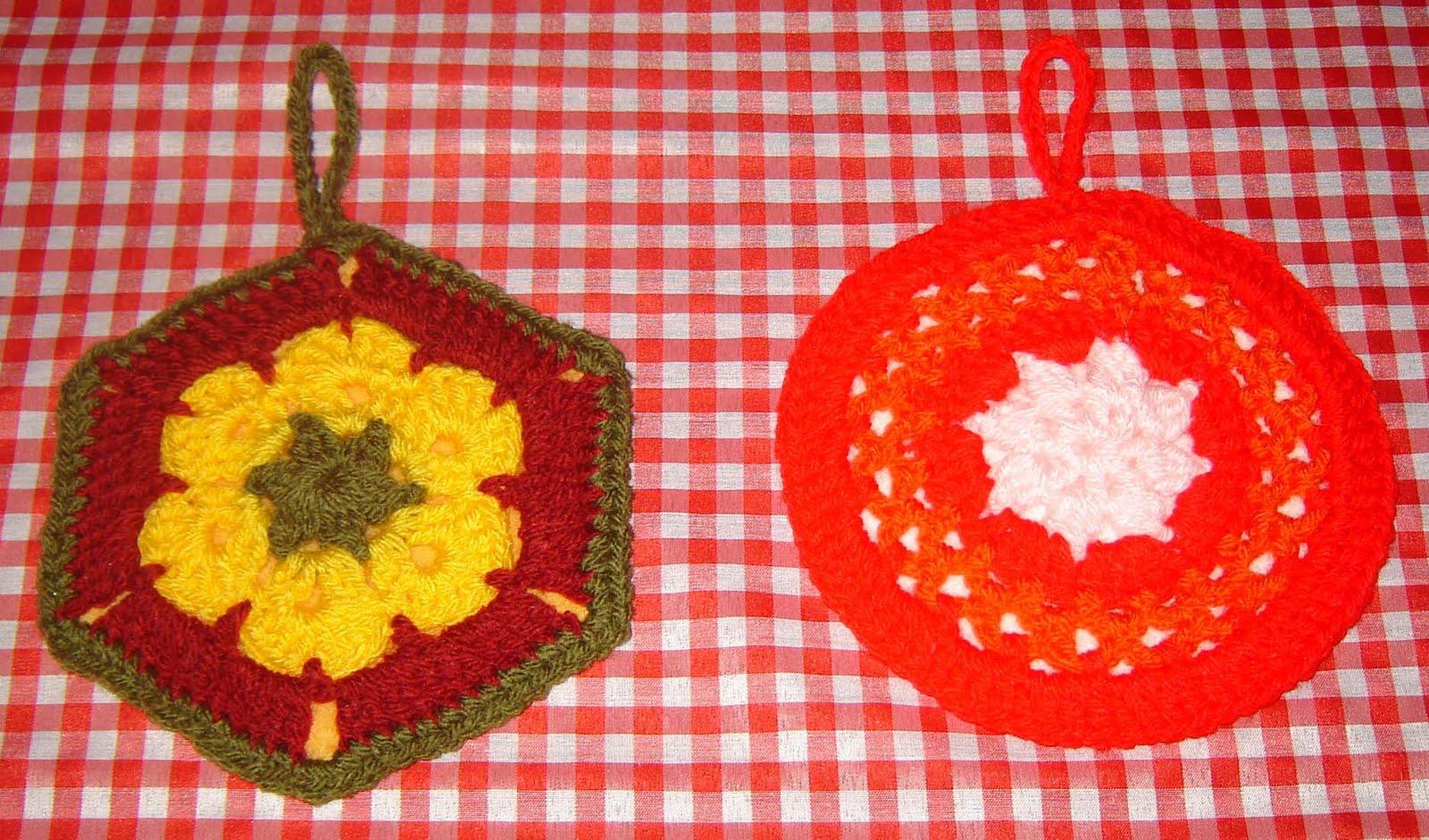 La Crochetnauta Agarraderas Para Mi Cocina