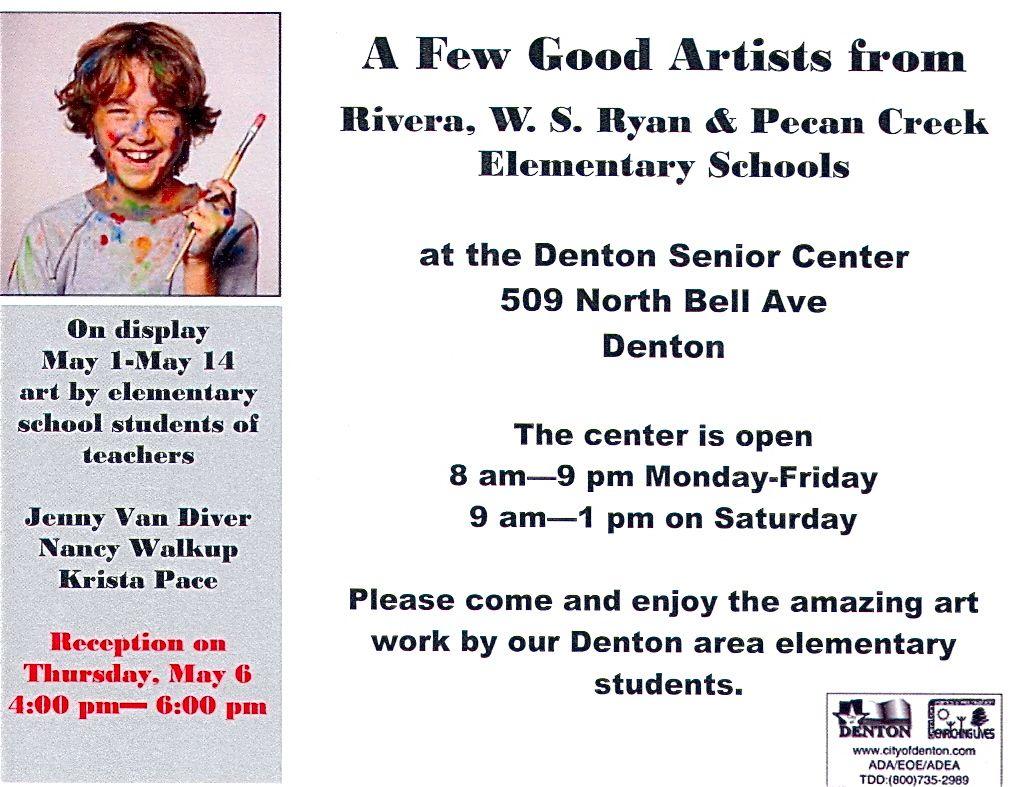 Exhibiting Student Artwork Exhibiting Student Artwork