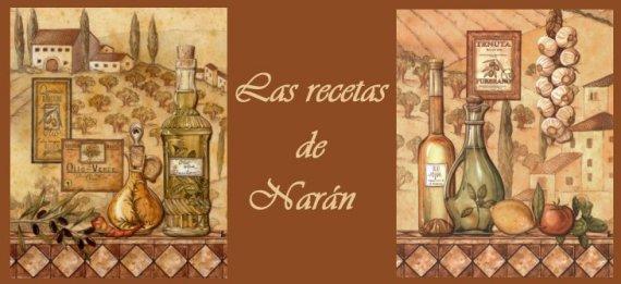 Las recetas de Narán
