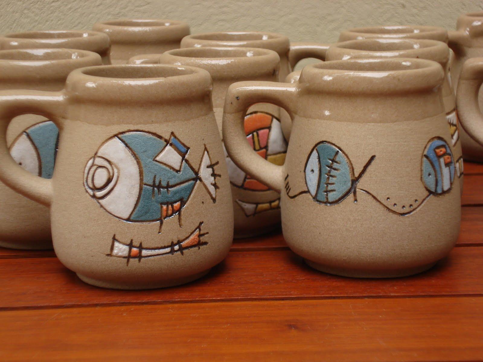 Ceramica el cuenco linea tostada for Materiales para ceramica artesanal