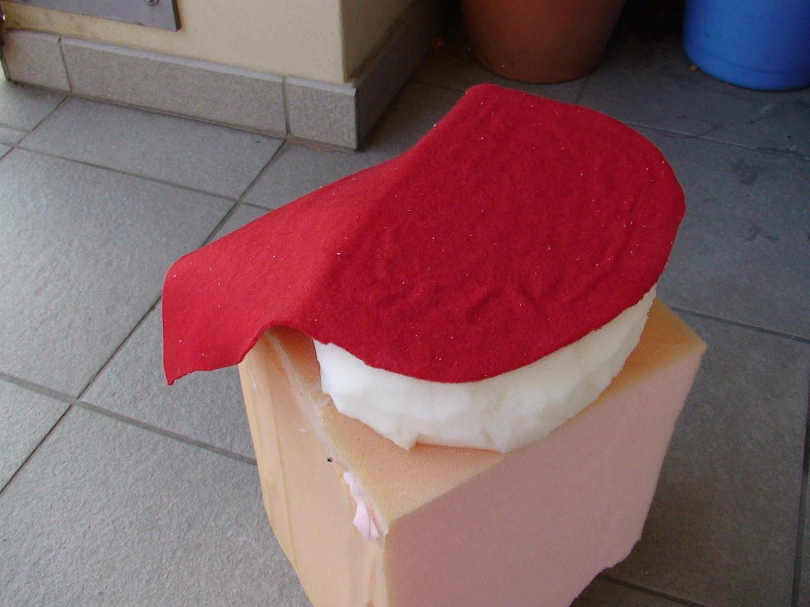 Come costruire un pupazzo di gommapiuma