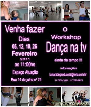 Workshop Dança na TV