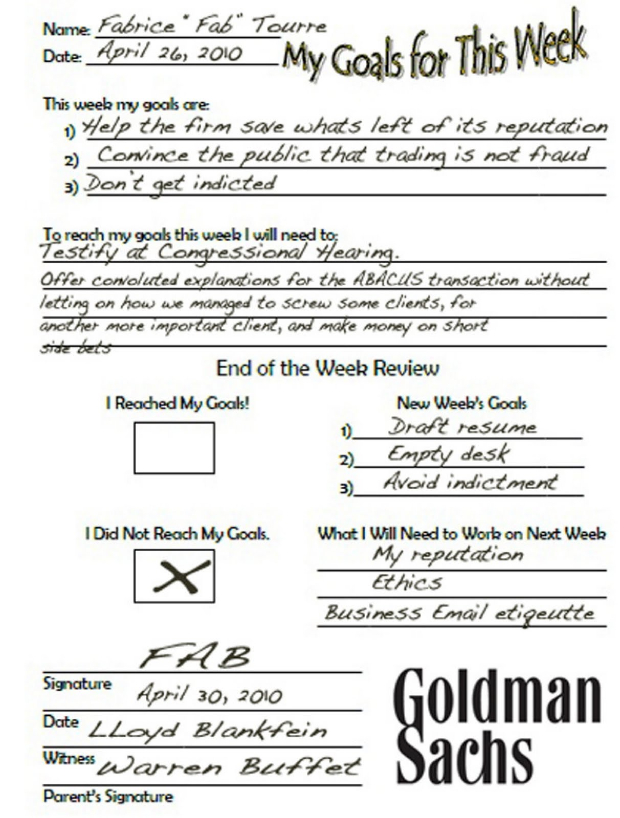 Employee Review: Funny Employee Review Comments