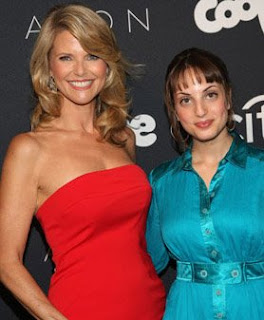 Christie Brinkley and Alexa Ray Joel