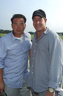 Jon Gosselin and Michael Lohan at polo - Photo by Getty Images