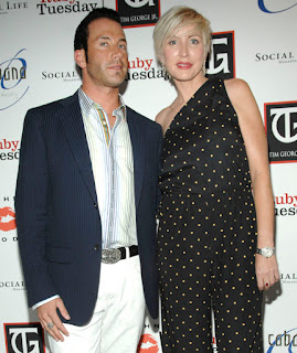 Tim George Jr and Heather Mills - Photo by Wire Image