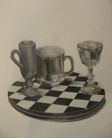 Yujung Kim, graphite on paper, 08-15-08