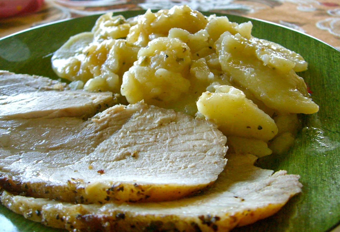 new potatoes roast pork loin with new potatoes herb and spice crusted ...
