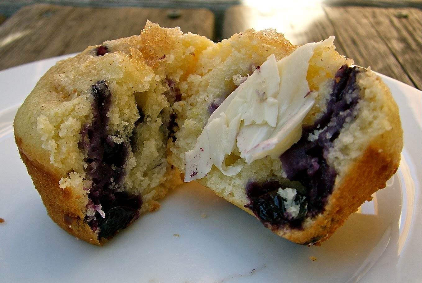 Blueberry Lemon Coffee Cake Muffins