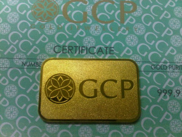 Gold Bar Gcp 10g 20g Dinar Emas