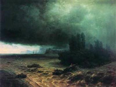Айвазовский. Наводнение в Судаке