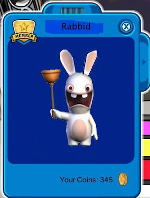 club penguin funny pics. A RABBID IN CLUB PENGUIN!