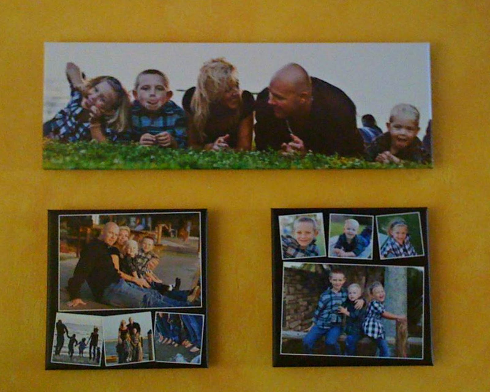 RC Media Services: Family Portrait Wall Art - shared via client cell ...