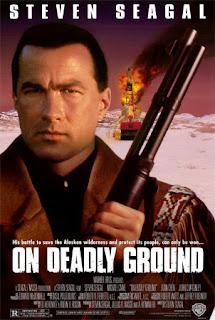 En tierra peligrosa Poster