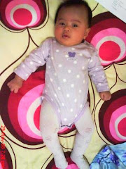 Baby Alya Qaisara 3m pakai tight putih 0-6m