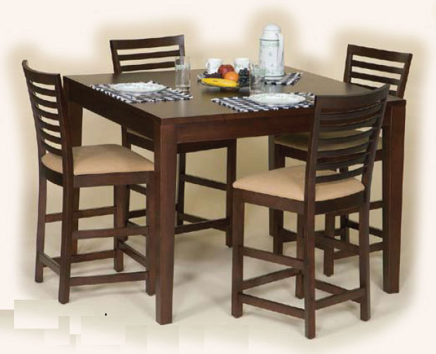 Handycrafted amish furniture pub tables are a great for Dining room alternatives