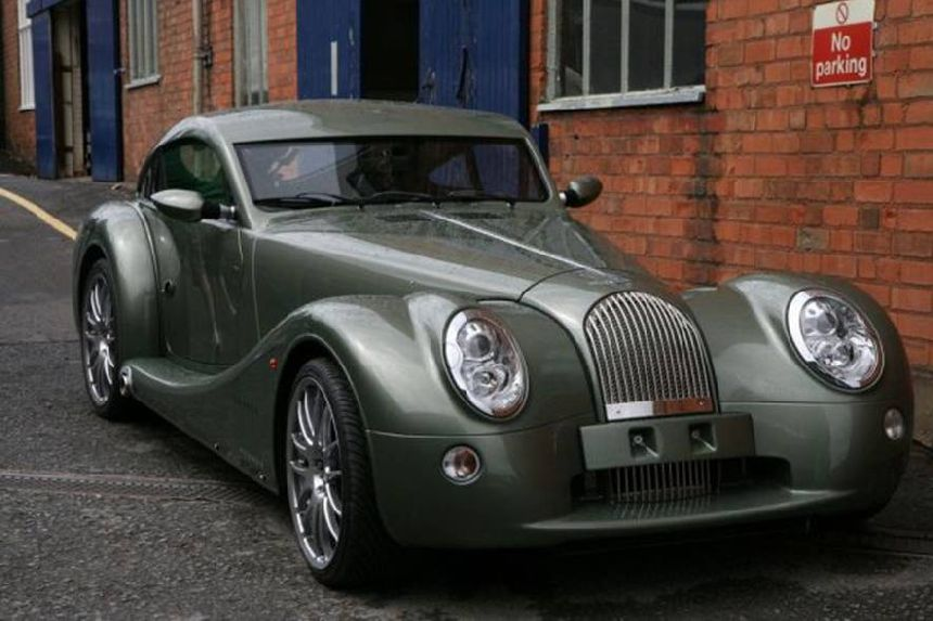 Cars Made Of Aluminum : Lloyd s morgan cars made by hand of wood and metal