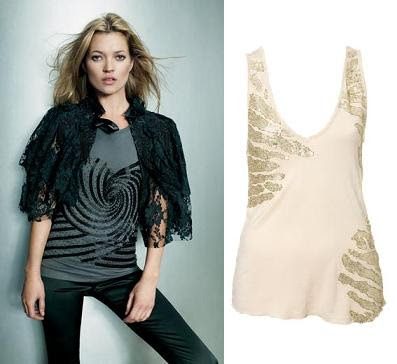 kate moss topshop. Kate Moss Top Shop AW07 and