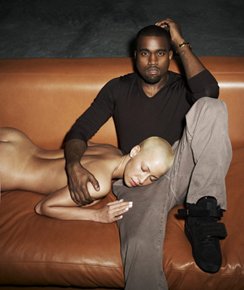 amber rose and kanye west break up. Their most-recent reak up was