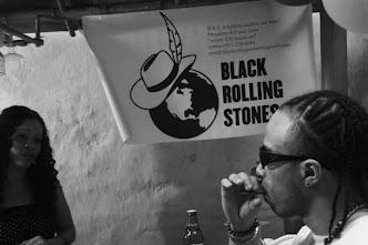 Black Rolling Stones
